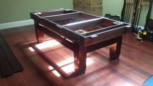 Correctly performing pool table installations, Yakima Washington